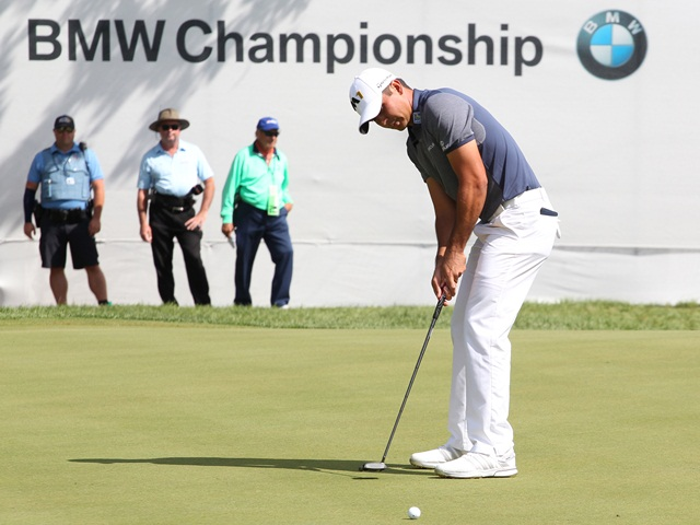 Jason Day winning at Conway Farms two years ago