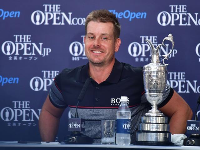 Don't expect Henrik Stenson to give up the Claret Jug lightly