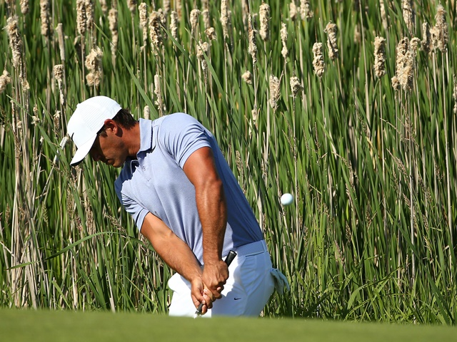 Sarah is sticking with one of her pre-tournament picks Brooks Koepka ahead of Moving Day
