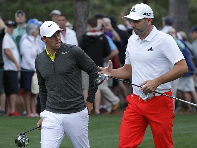Rory McIlroy and Sergio Garcia are just two of the big names in action at the British Masters