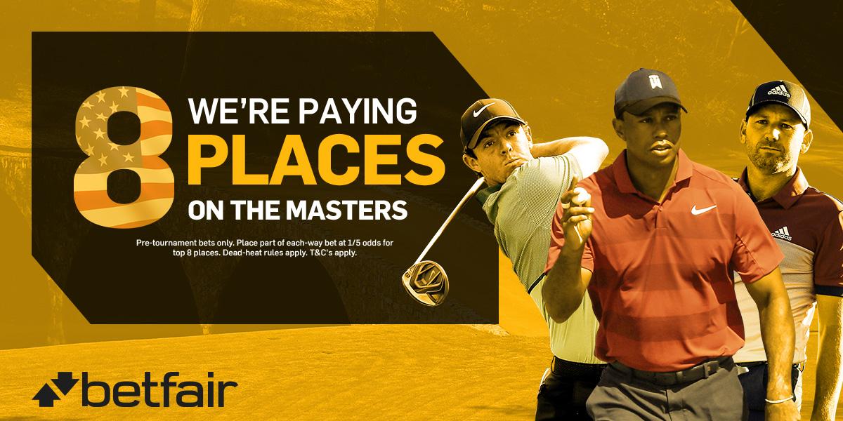 betfair masters betting