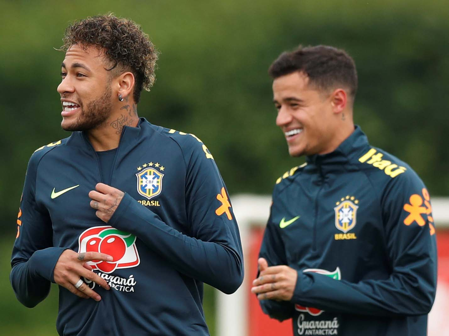 Neymar and Coutinho training 640.jpg