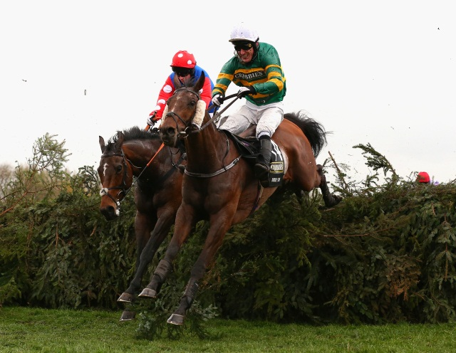 Rocky Creek (left) and AP McCoy (right) can steal the Aintree headlines