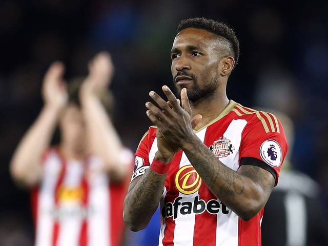 Bradley's friend and idol, Sunderland striker Jermain Defoe, is listed as the trainer for the big race