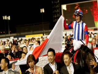 Can a Japanese runner win again for the Axis Powers?