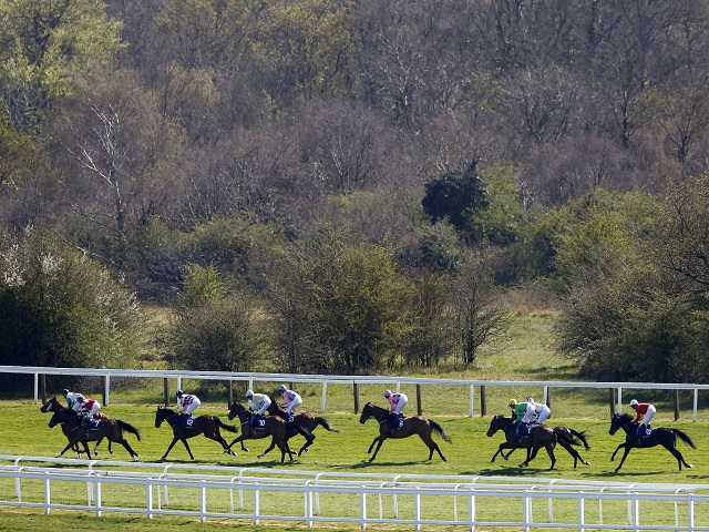 We're racing at Epsom (pictured) and Ffos Las this evening