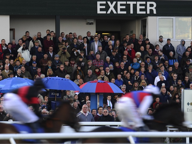 There is jumps racing from Exeter on Tuesday