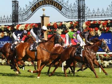 The Melbourne Cup takes place at Flemington