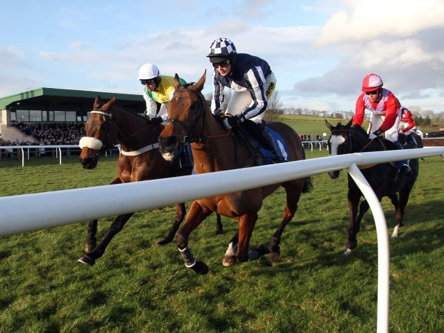 There is racing at Kelso on Sunday