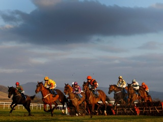 Ludlow was the venue for the first winner of the Betfair Paul Nicholls Distance Challenge