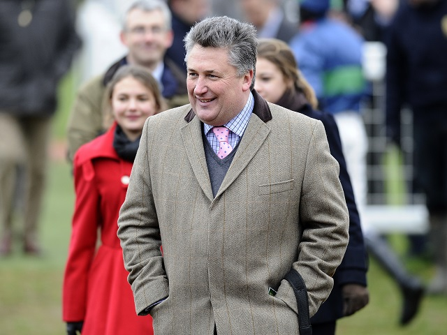 Betfair Ambassador Paul Nicholls will saddle four runners at Aintree on Friday