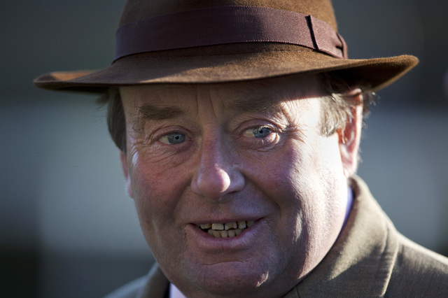 Trainer Nicky Henderson has been very complimentary about Champion Hurdle hope Brain Power