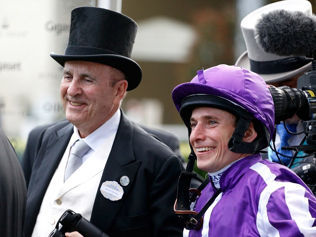 Who will be smiling on St Leger day at Doncaster? Ryan Moore shares his insight