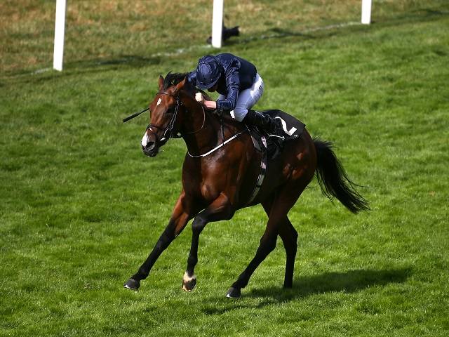 Ryan Moore looks to secure another victory for Aidan O'Brien in the Arlington Million