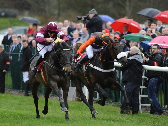 Punchestown is one of this evening's three meetings