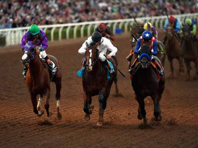 California Chrome was second in last year's Dubai World Cup