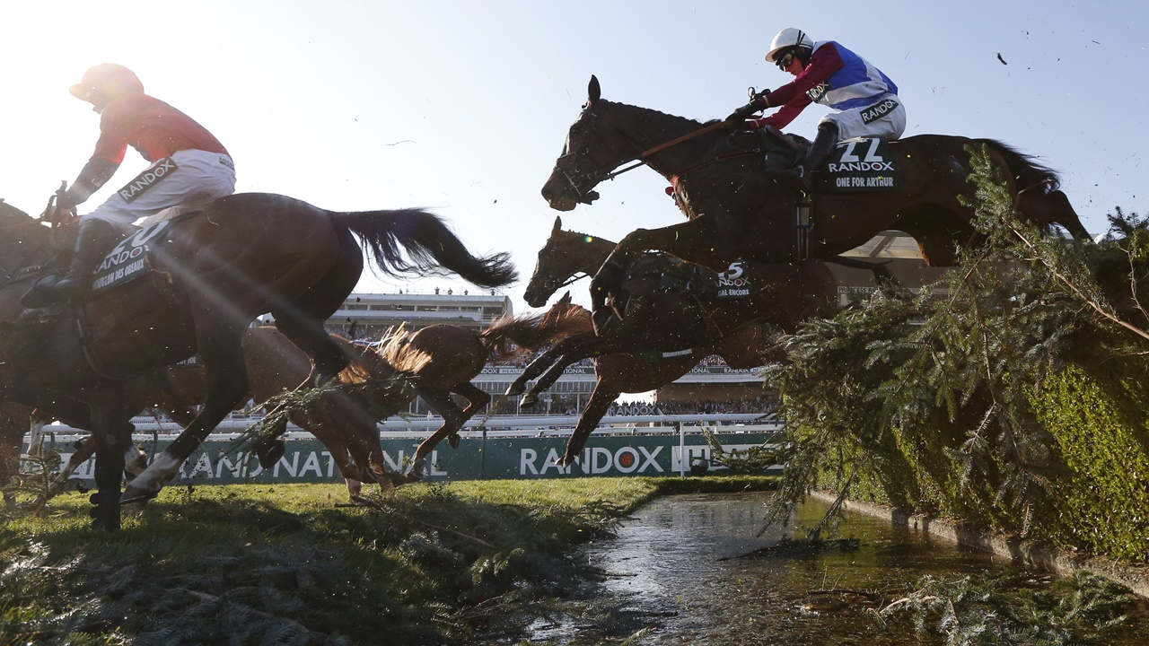 There is racing from Aintree on Saturday