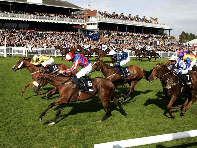 There is racing from Ayr on Monday