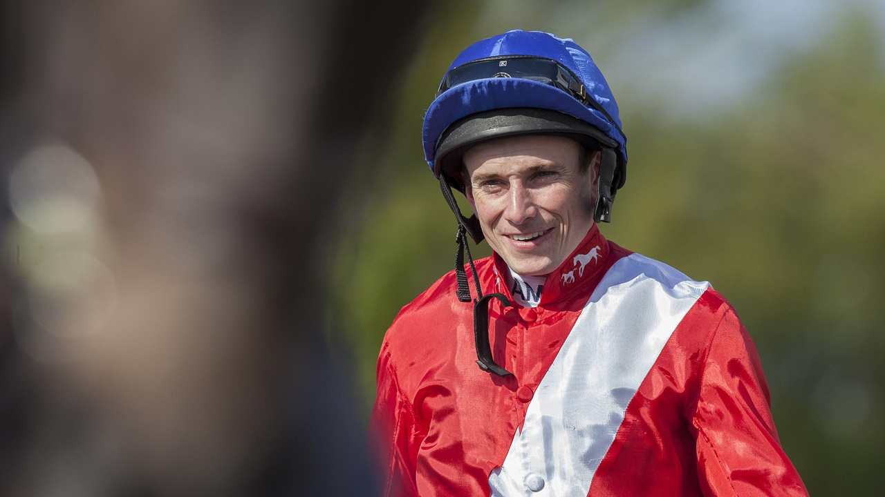 Ryan Moore has an excellent book of rides on British Champions Day at Ascot