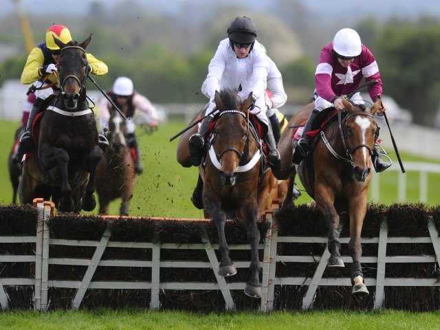 There is jumps racing from Punchestown on Wednesday