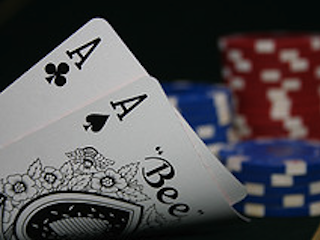 Some players instinctively want to raise more before the flop with pocket aces than they would otherwise, which may or may not be a good instinct depending on the game.