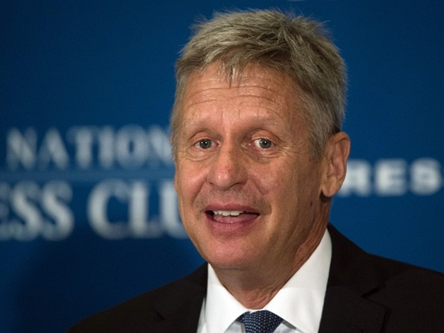 Gary Johnson is chasing 15% in the polls and a platform in the TV debates