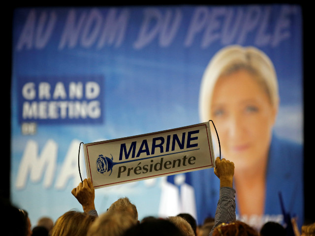 Lots of individual bets have come in for Marine Le Pen, but Emmanuel Macron is still short-priced favourite
