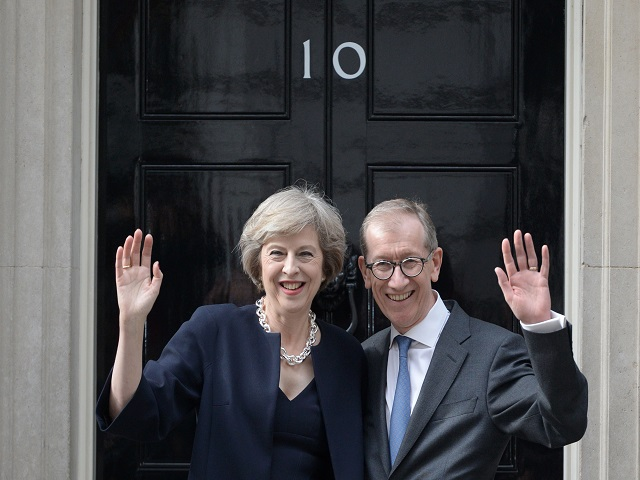 The Mays are on course to return to 10 Downing Street on Friday morning