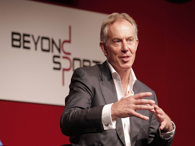 Tony Blair believes Brexit and Corbyn would be a double blow for Britain