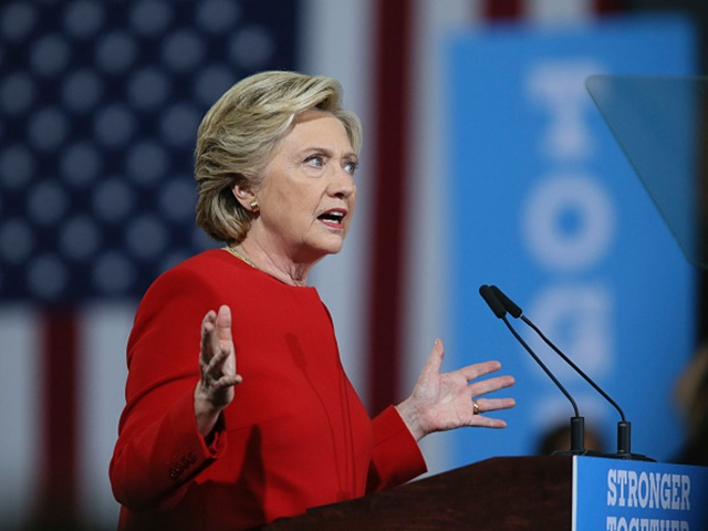 Hillary Clinton stands on the brink of becoming the first female president