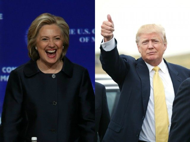 Head-to-head polls offer Clinton plenty to smile about