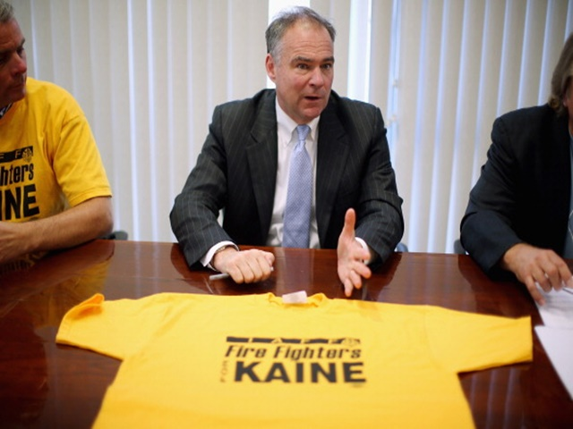 Tim Kaine is widely assumed to be on the Clinton shortlist