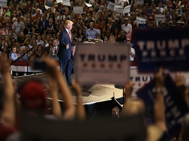 Donald Trump's adoring base is not representative of Middle America