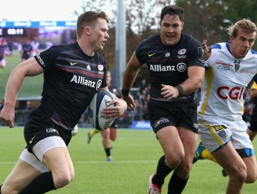 Saracens started the competition with a crucial home win over Clermont