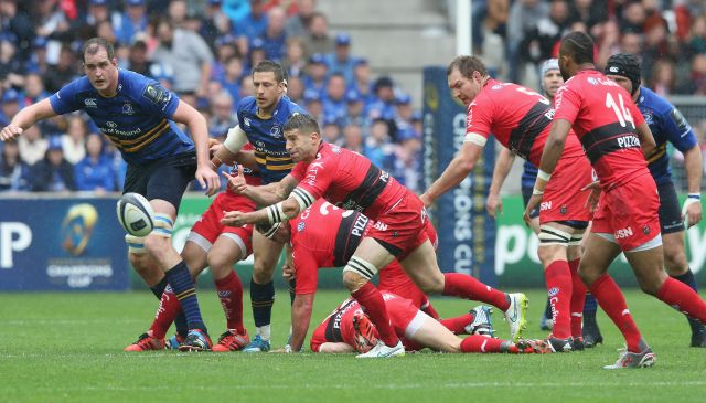 Toulon had to work hard to edge past Leinster in the semi-final