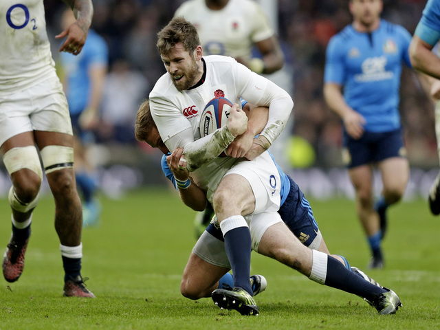 England made hard work of beating Italy in their last match