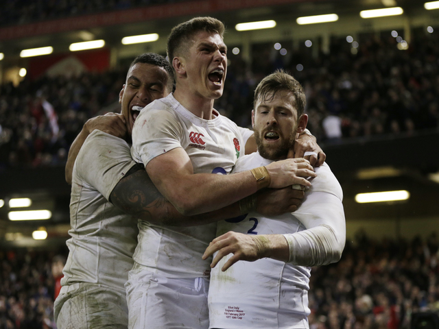 England left it late to snatch victory in Wales in their last game