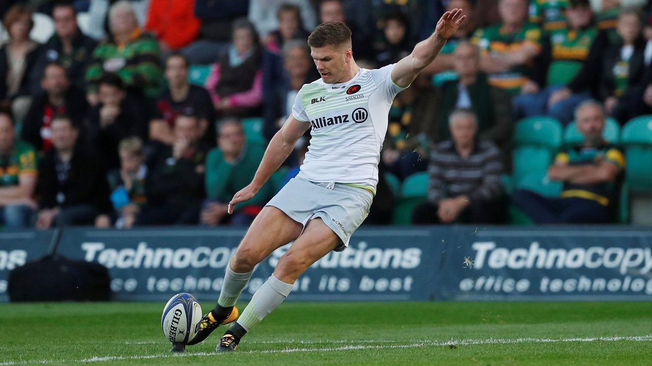 Deadly - Owen Farrell slots over another penalty