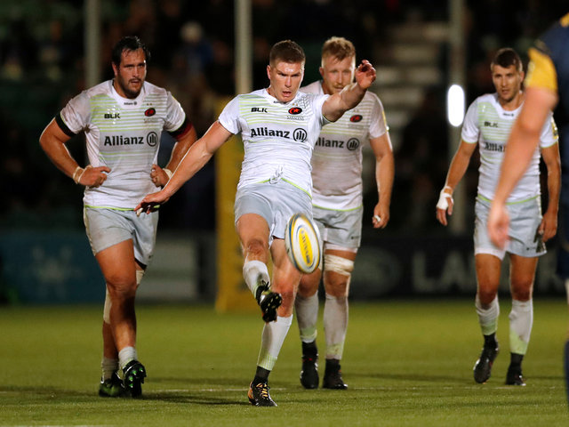 Saracens eased to a convincing win at Worcester last week