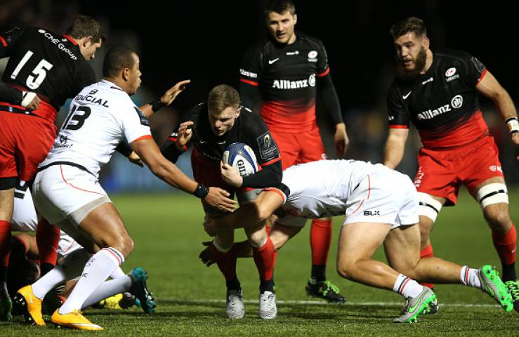 Saracens dominated their opening victory over Toulouse last weekend