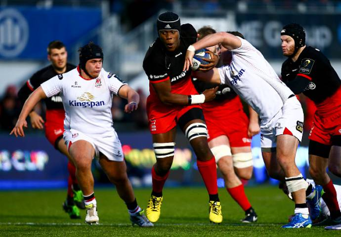 Saracens have won all five games in the tournament this season