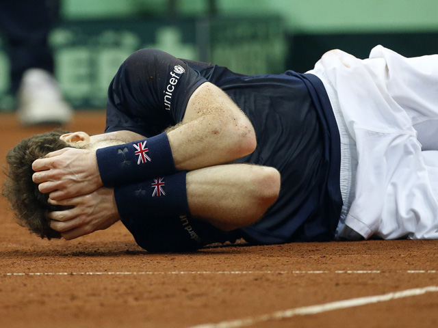 Andy Murray got surprisingly emotional about winning the Davis Cup for Great Britain