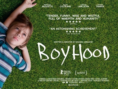 Boyhood: as a drama and Golden Globe winner, it has a better than 50:50 chance of going on to Oscar's glory