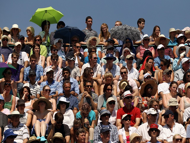 Punters at Wimbledon will need plenty of sun cream this week -  but don't get carried away in the temperature markets