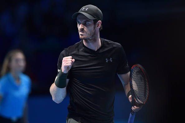 Andy Murray is value to celebrate victory today...