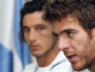 Juan Martin del Potro is Argentina's star man but Juan Monaco will have a big role to play of his own