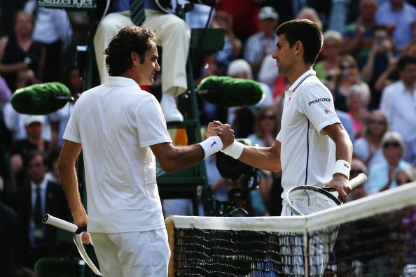 Djokovic and Federer will meet at the Wimbledon net again this year
