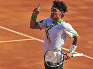 Will Fognini be fit enough to lead Italy to the last four?