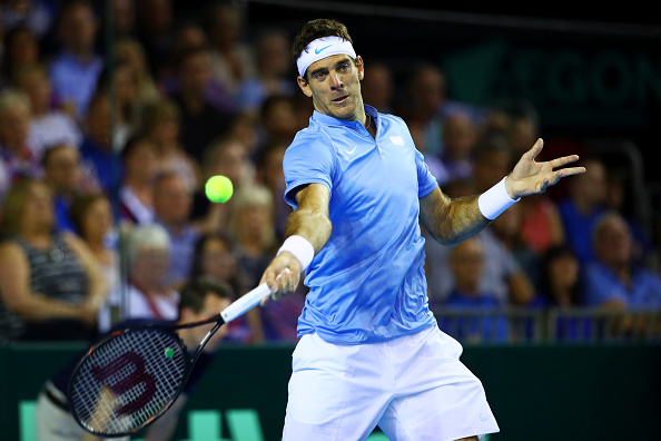 Juan Martin Del Potro looks over-rated by the market tonight...