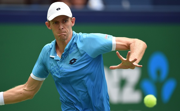 Kevin Anderson will be a major threat in Tokyo in the coming week...